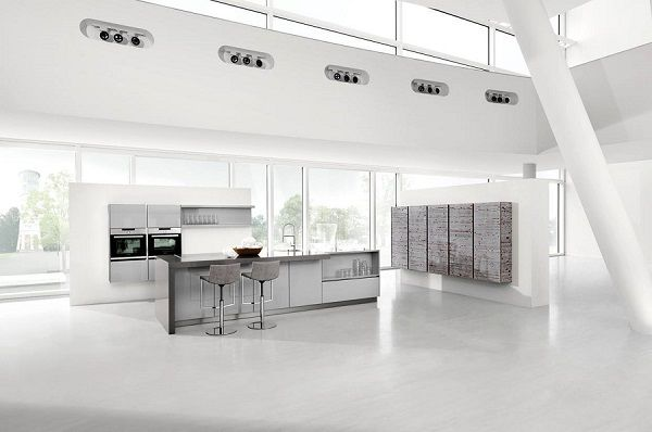 Handle Less Kitchen Design
