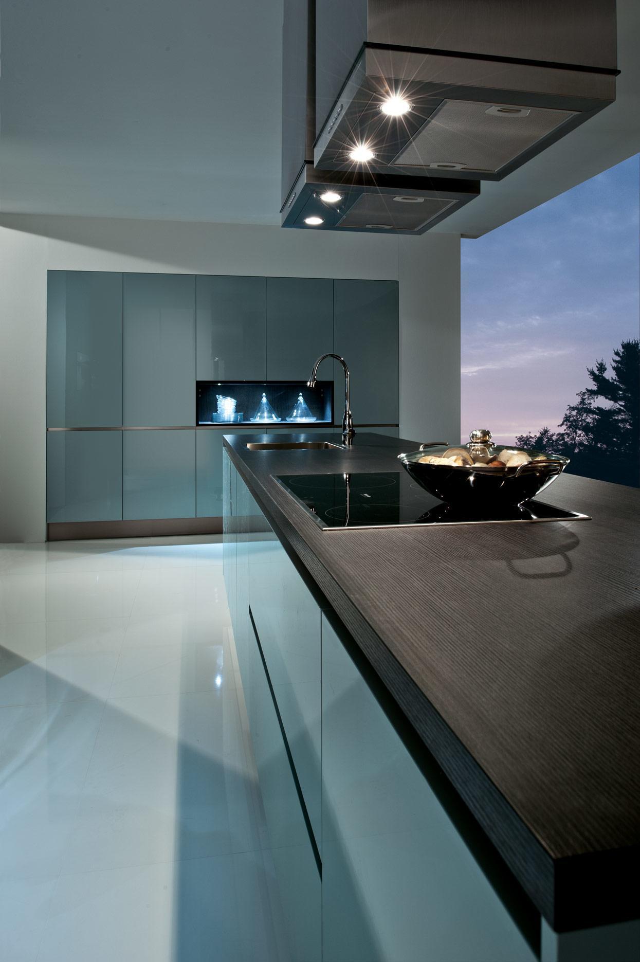 K and I Kitchens - trendy grey-beige
