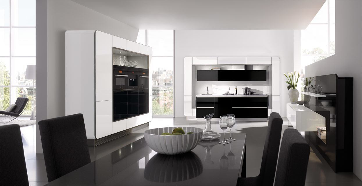 K and I Kitchens - White NOVA segments