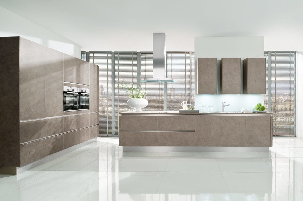 KandI Kitchens - trendy grey-beige