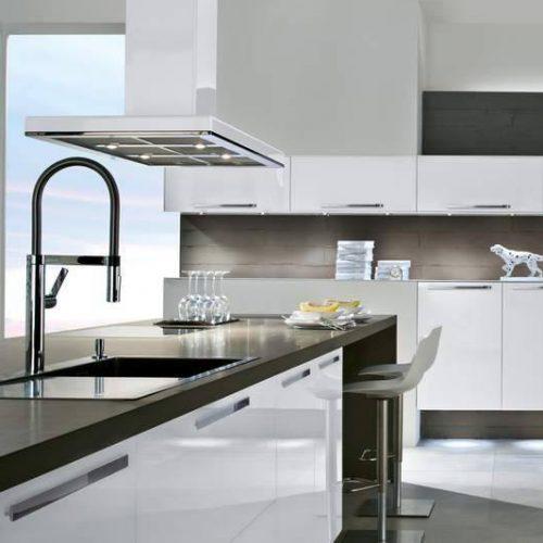 AV 5090 Design glass brilliant white 2