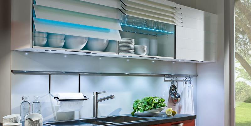 K and I Kitchens - Neo Red Gourmet Kitchen