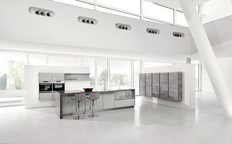 Handle-less kitchen