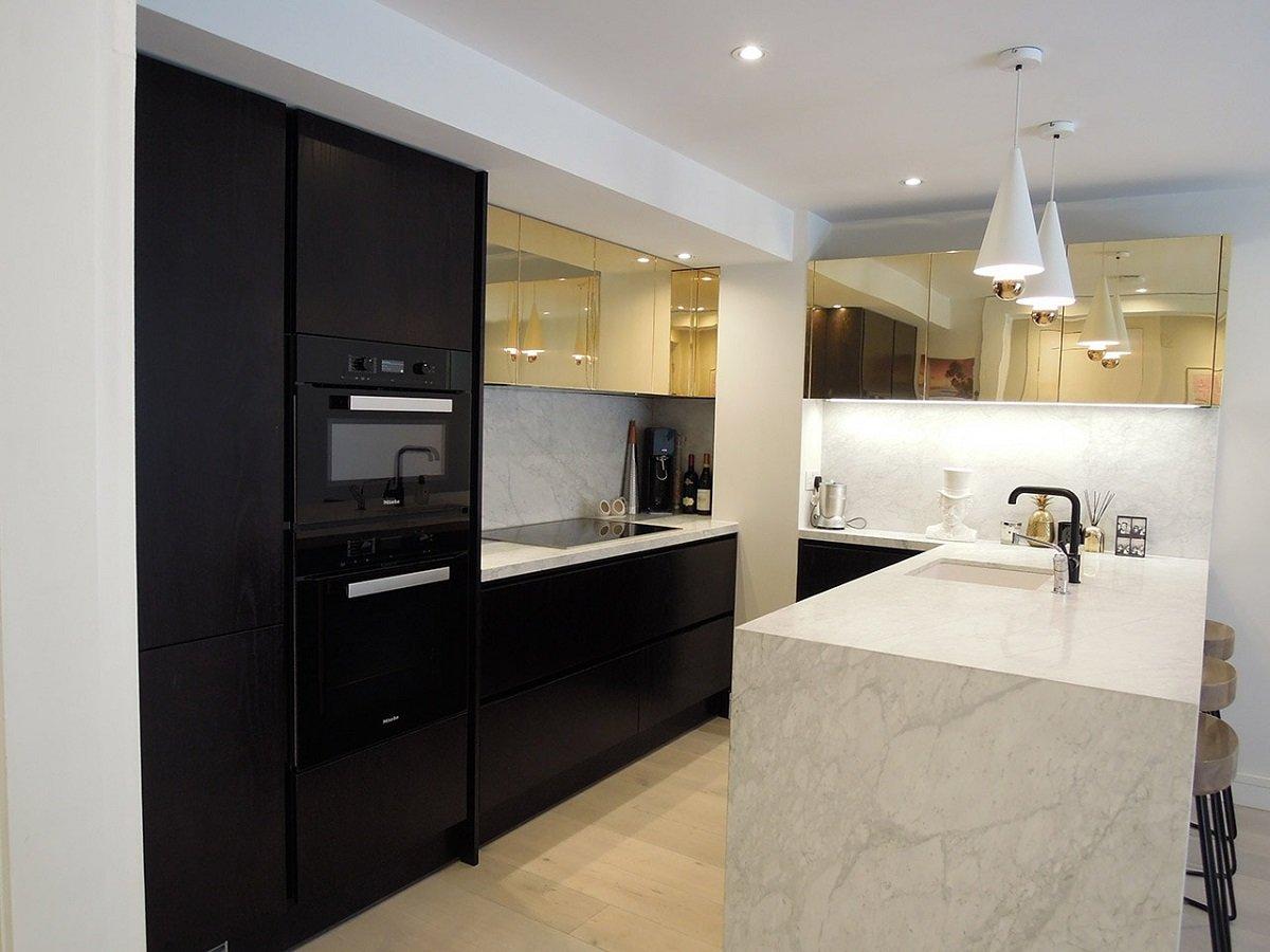 Benefits Handle Less Kitchen Design
