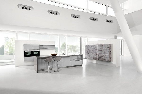 Handle Less Kitchen Design