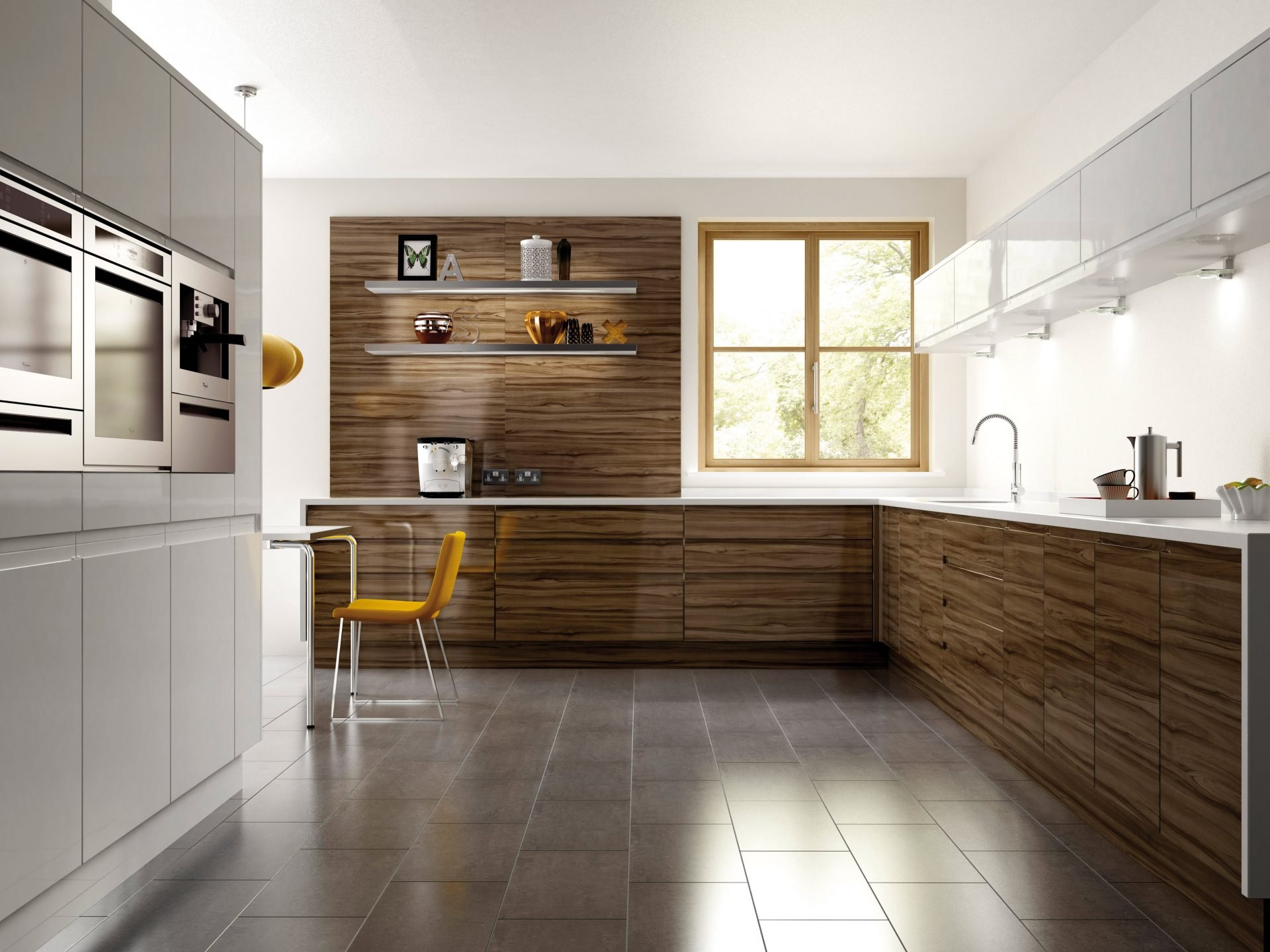 How To Get A Pleasant Traditional Look Of Your Kitchen